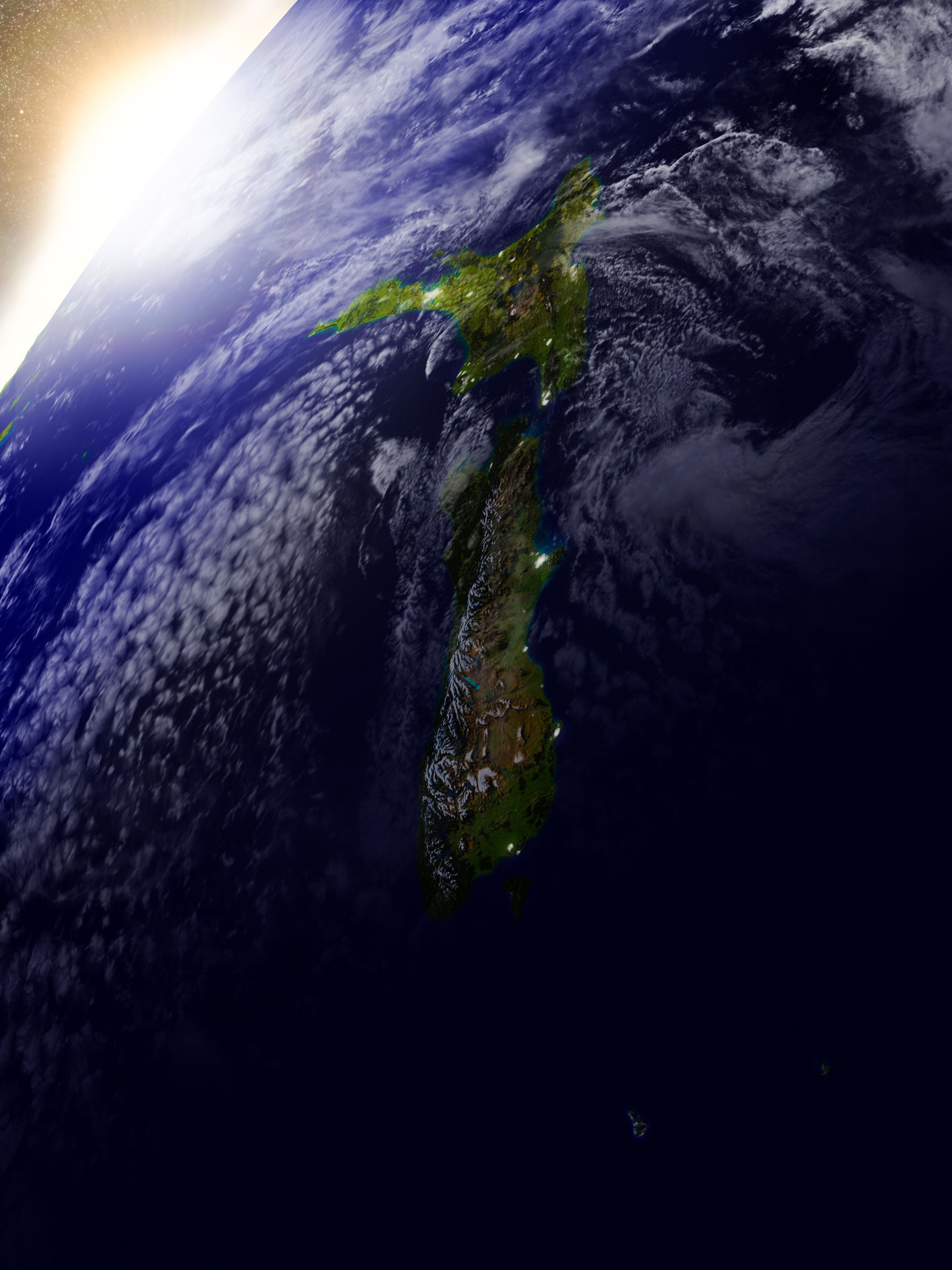 Satellite imagery will be used to further knowledge about New Zealand's ocean resources
