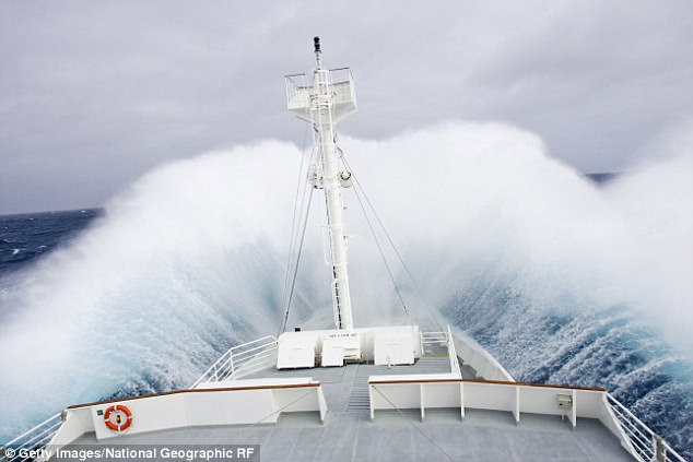 Daily Mail, 23 May 2017 # Surf's up! Monstrous 64-foot 'megawave' spotted in the Southern Ocean