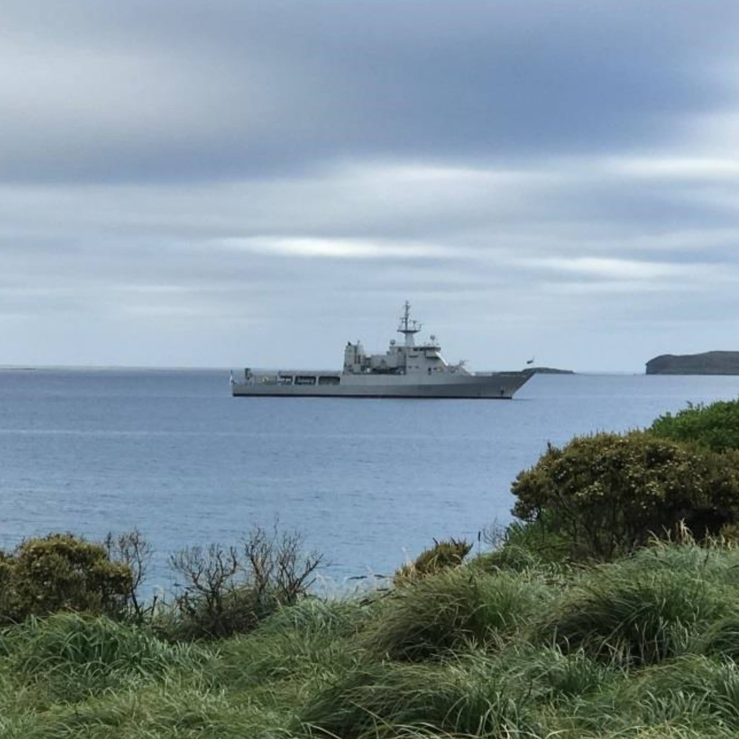 Offshore Patrol Vessel HMNZS WELLINGTON.