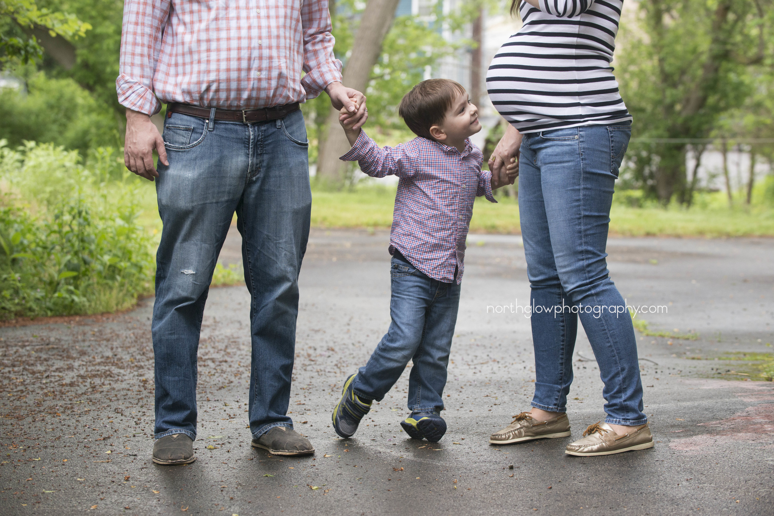 Soon-to-be party of 4 | NorthGlow Photography