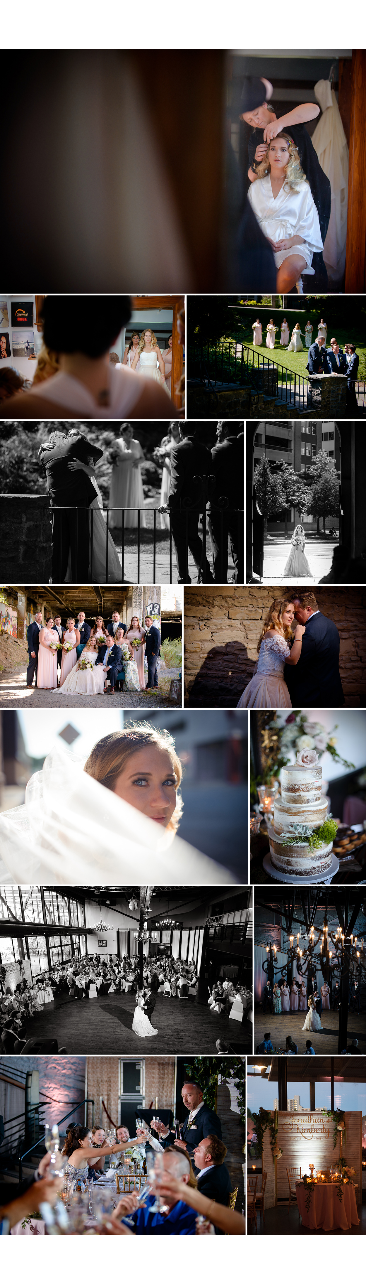 rochester ny la luna wedding