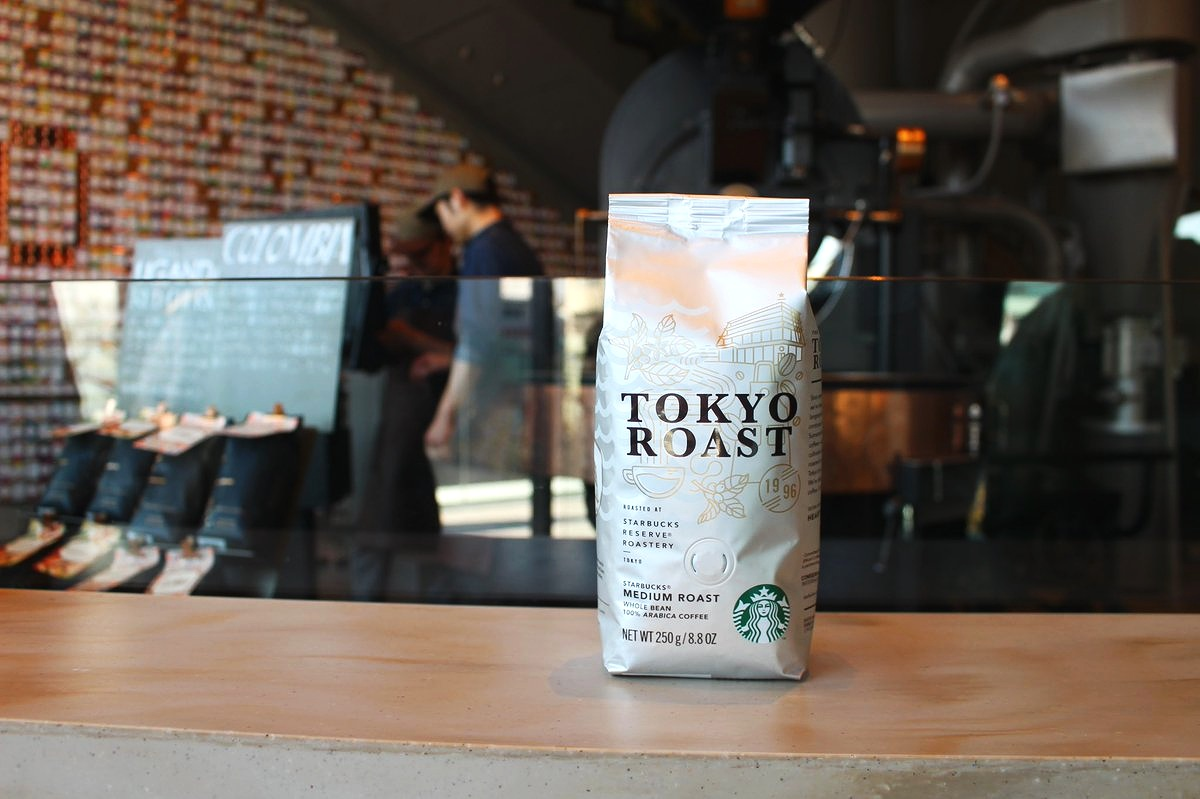 Romance, Side of Bag:  Since opening our first store in Ginza in 1996, we've been proud to be a part of Japan's longstanding coffee culture. Tokyo Roast continues this tradition with deeply earthy Sumatran beans and vibrant Latin American coffees—all diligently cared for, from cultivation to when they are blended and roasted at our Tokyo Starbucks Reserve™ Roastery by our Japanese coffee experts. We're delighted to introduce this exquisite coffee. Crafted here, just for you.