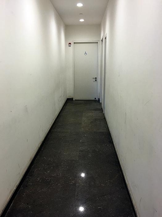 Which is the ladies' room? Wangjing SOHO, Beijing, P.R.C