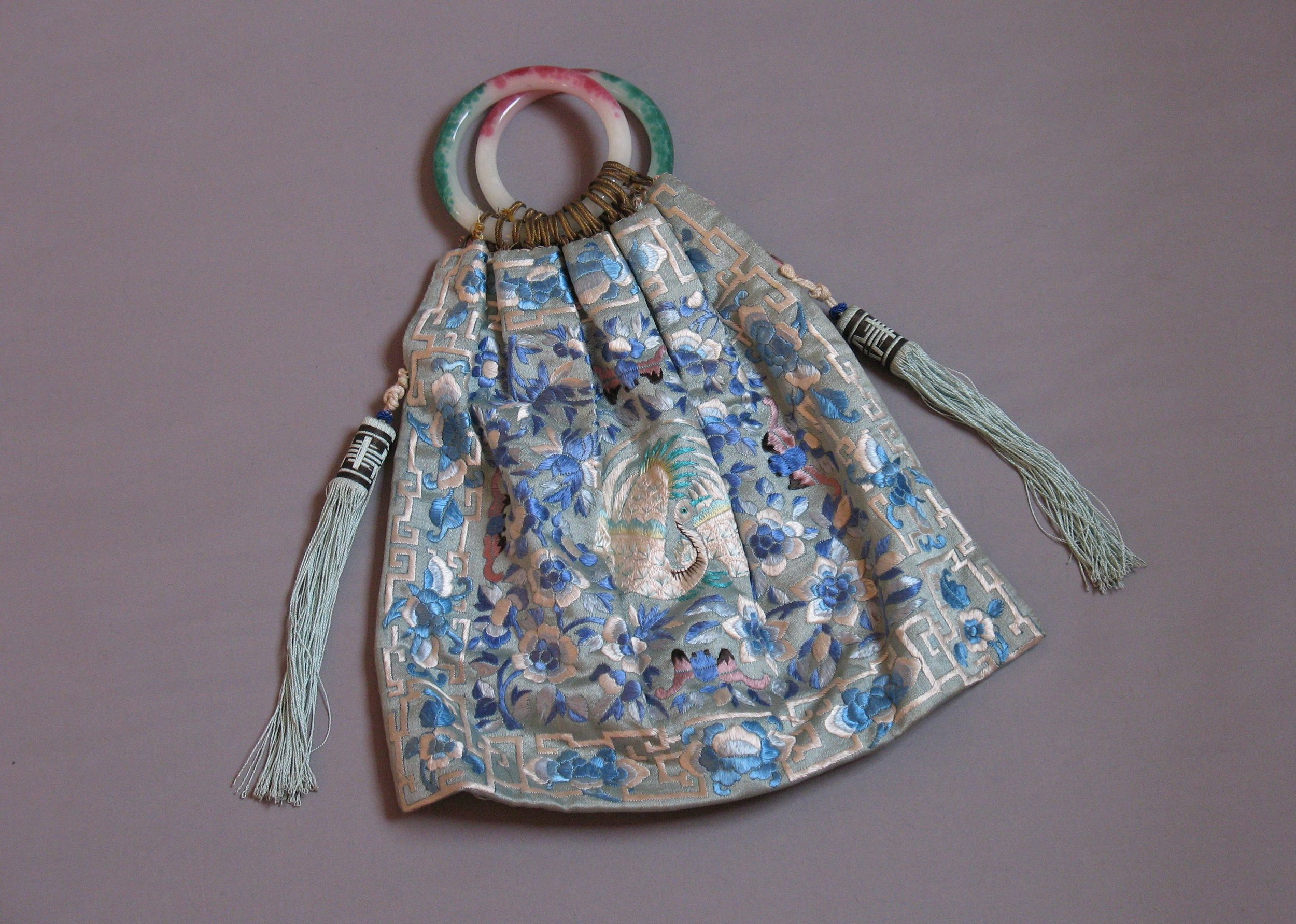 Chinese Qing dynasty rank purse