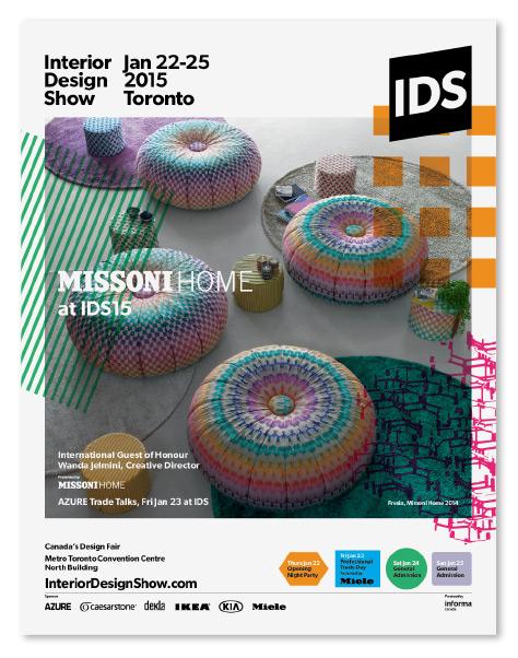 Interior Design Show 2015 Advertising