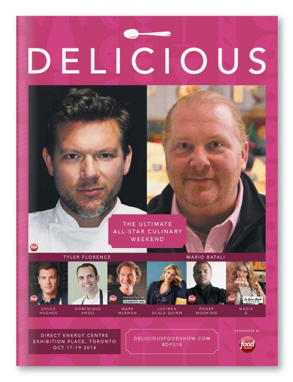 Delicious Food Show / Showguide Design