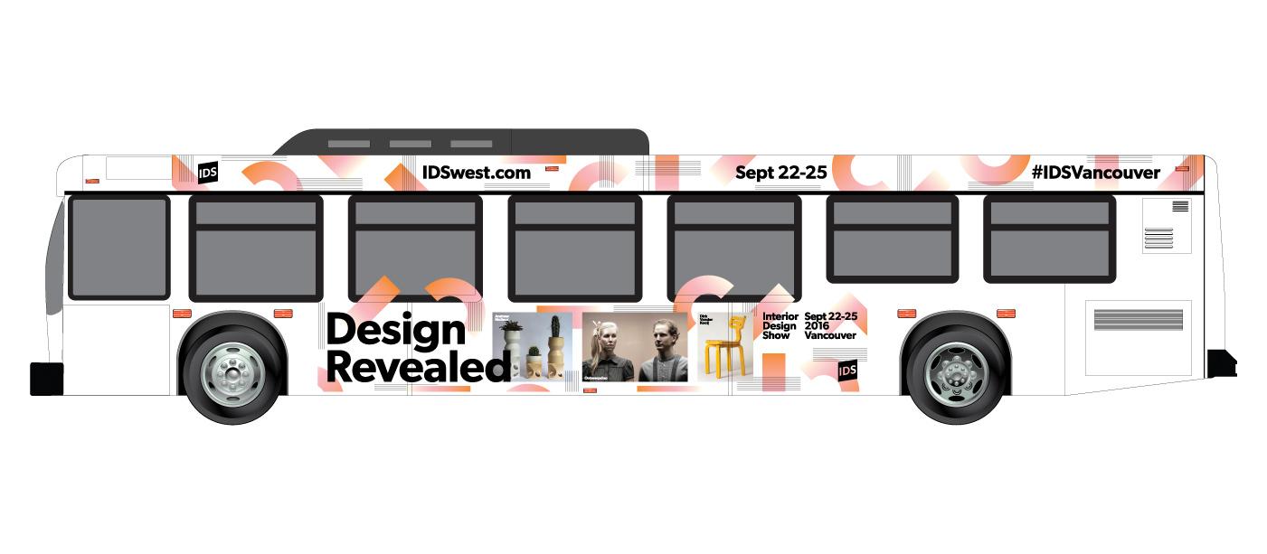 Interior Design Show 2016 Vancouver / Bus Advertising
