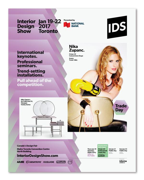 Interior Design Show 2017 Toronto / Advertising