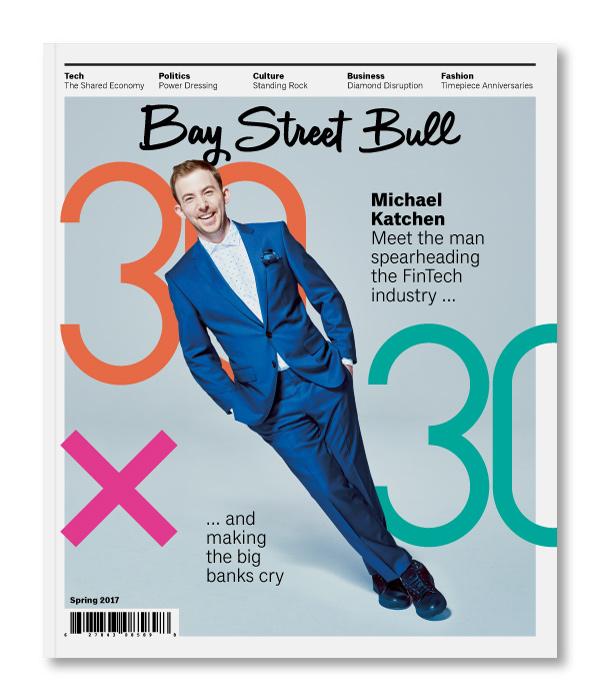 Bay Street Bull / Cover Design