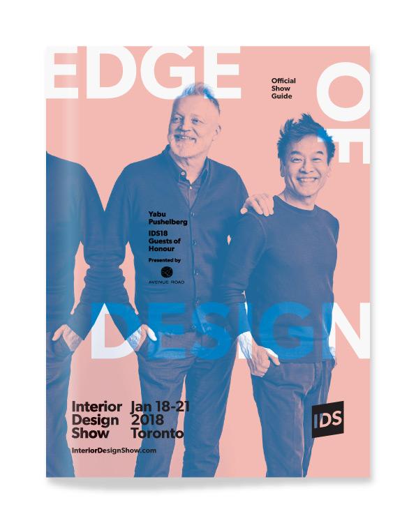 Interior Design Show / Show Guide Cover