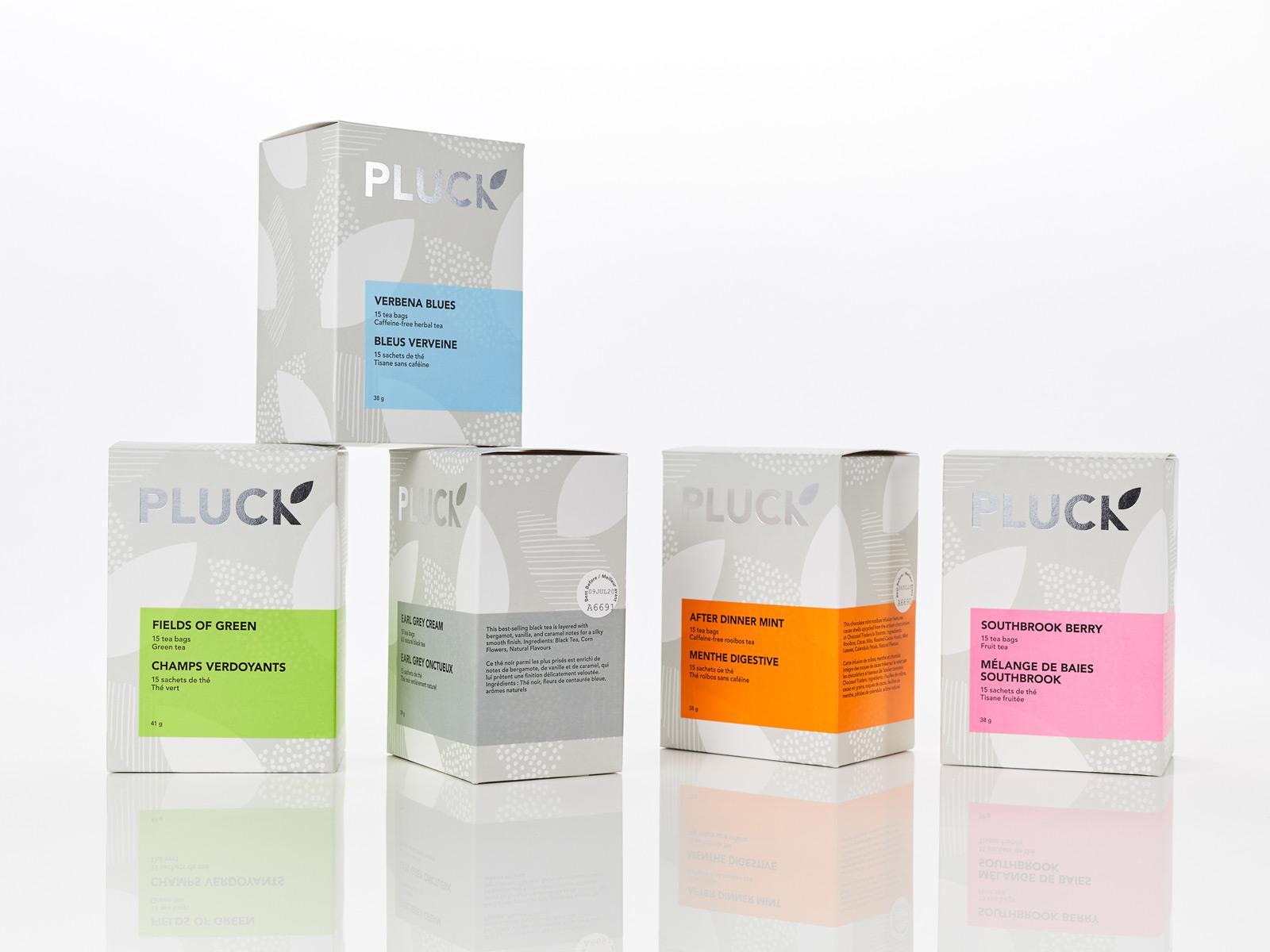 Pluck / Packaging