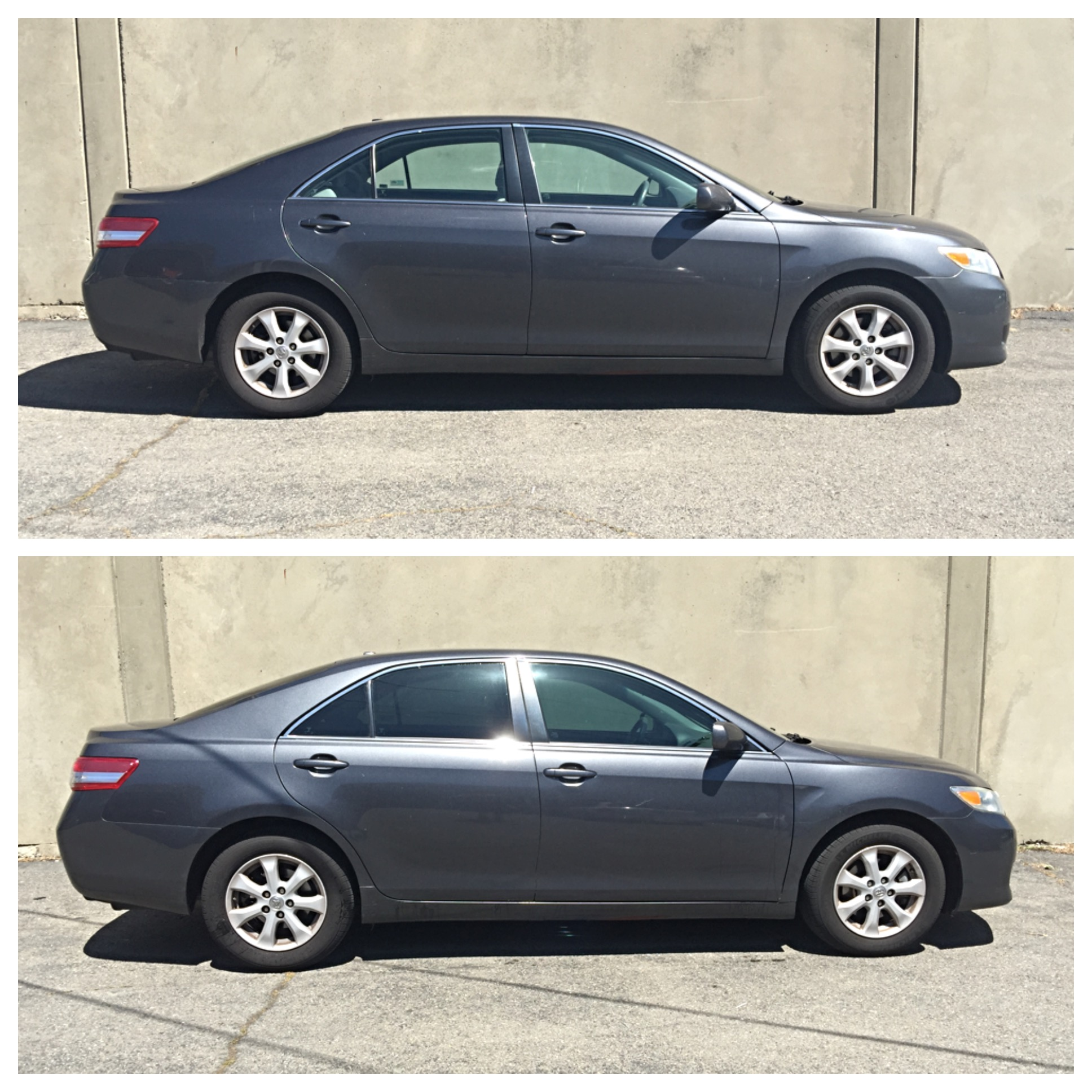 Fully Tinted Camry