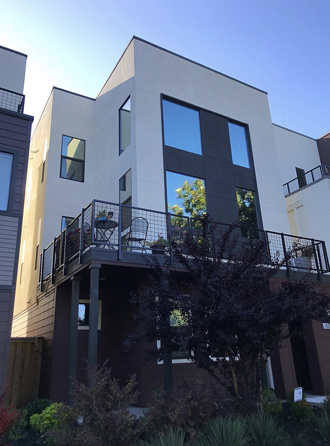 SuperAlloy 15% on all windows of this 3 story home