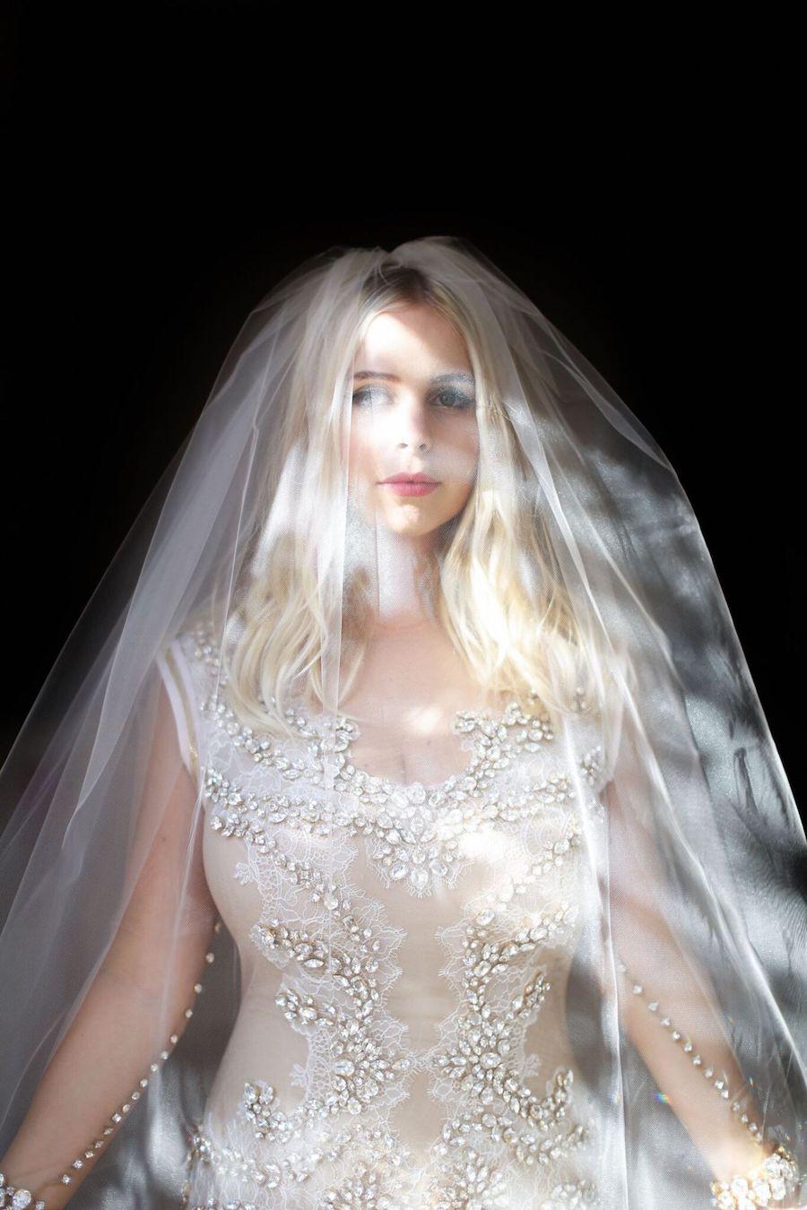 two wedding dresses, Wedding Reception Dress, Wedding Gown, RMINE