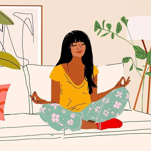 "A little while ago for @apartmenttherapy ""Schedule a 'Should-Less Sunday' To Revitalize Your Weekend"" ✨"