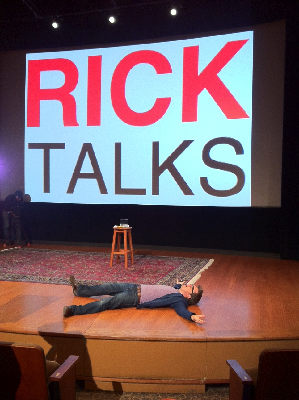 Rick's speeches will floor you!