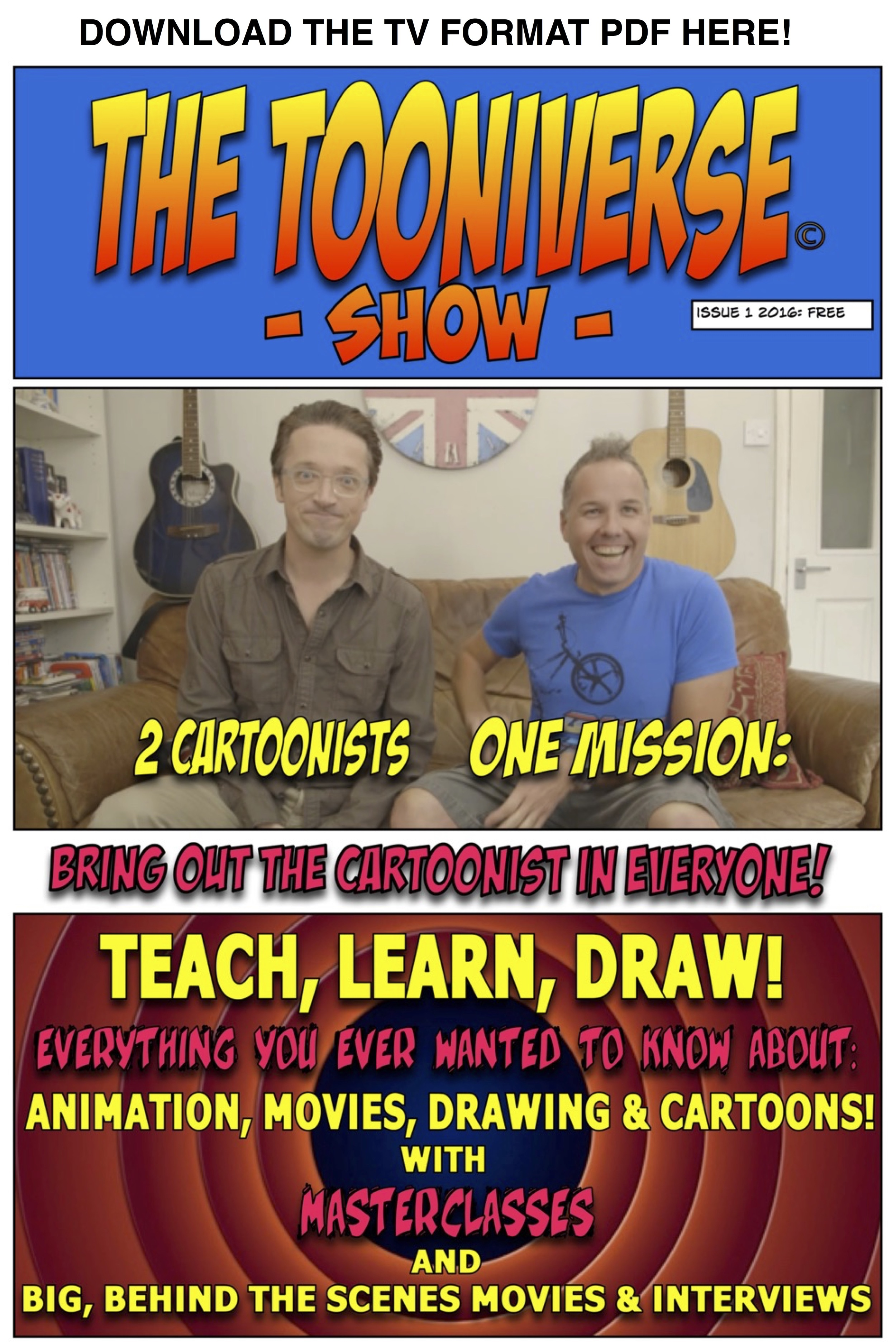 "Download ""The Tooniverse Show"" PDF Here!"