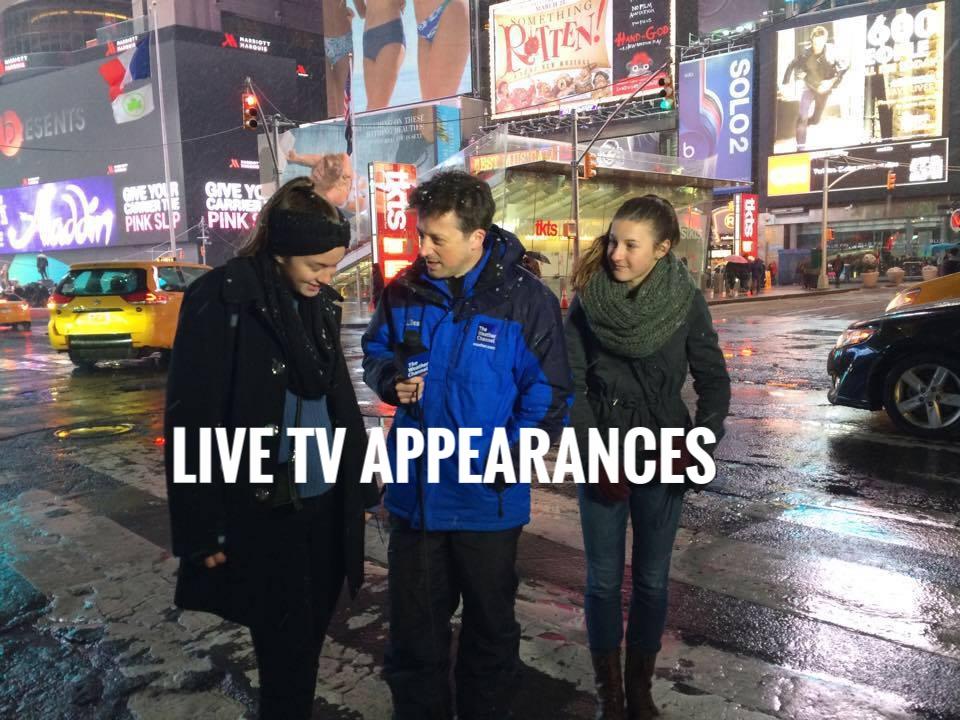 LIVE TV APPEARANCES