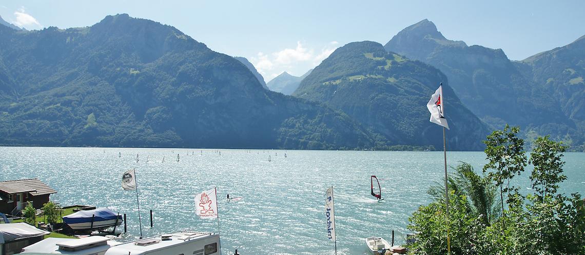 A Real Power Place. - Lake Uri Riviera, www.windsurfing-urnersee.ch