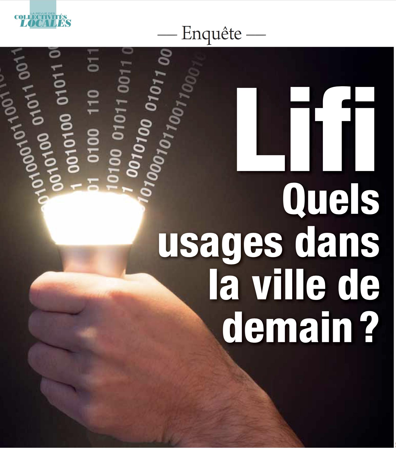La Revue des collectivités locales : Lifi : nouveaux usages dans la ville de demain - Septembre 2017