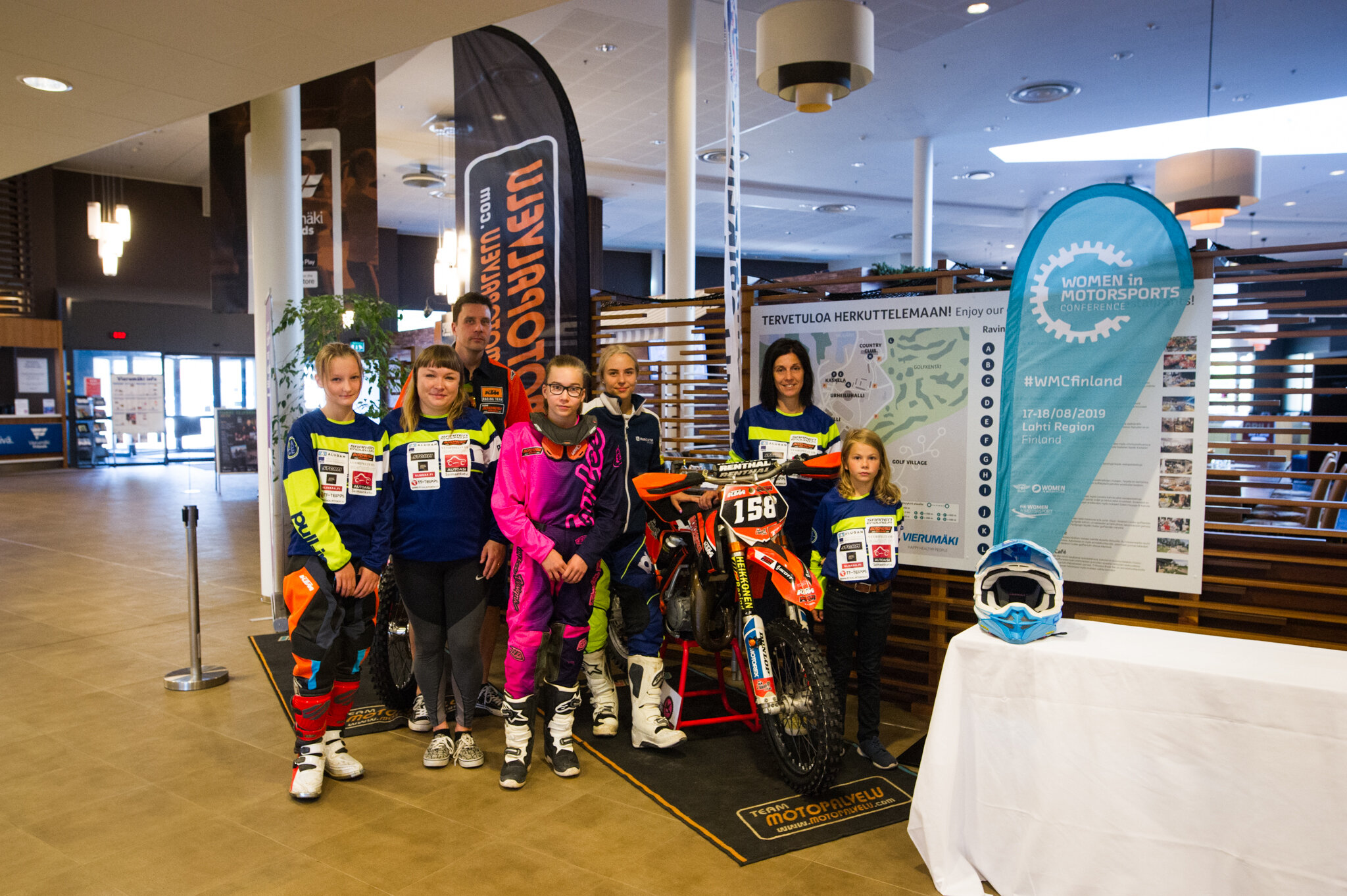 Enduro activity organised for the Conference