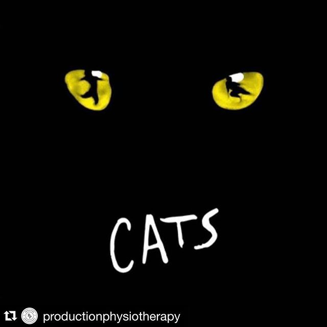#Repost @productionphysiotherapy (@get_repost) ・・・ Over the past 6 months we have been supporting the amazing cast of Tom Hoopers live action film Cats. We'd like to thank all the amazingly talented dancers (from a wide array of disciplines) for making it a pleasure to come to work each day