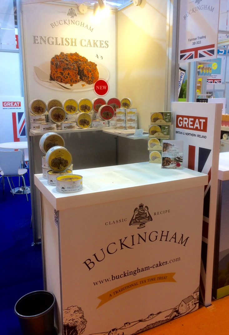 - May 2017This month we are excited to be exhibiting at HOFEX, the major international trade show in Hong Kong; a hub for food buyers from China and nations across South East Asia. We were proud to be part of the British pavilion. Hundreds of visitors tasted our cakes and universally praised them for their delicious flavour and strong packaging. We are always pleased to hear how many people across the world are aware of 'English Afternoon Tea' complemented with fruit cake (of course), the most traditional of all English cakes.