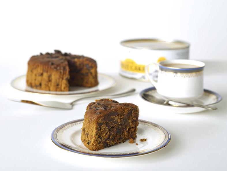 الكيك الإنجليزي التقليدي مع الشاي