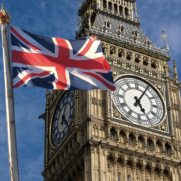 ساعة بيج بين بريطانية