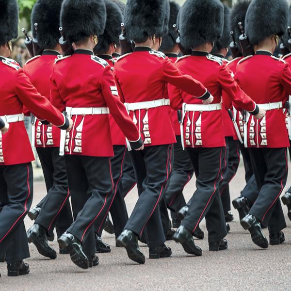 جنود الحرس الملكي البريطاني