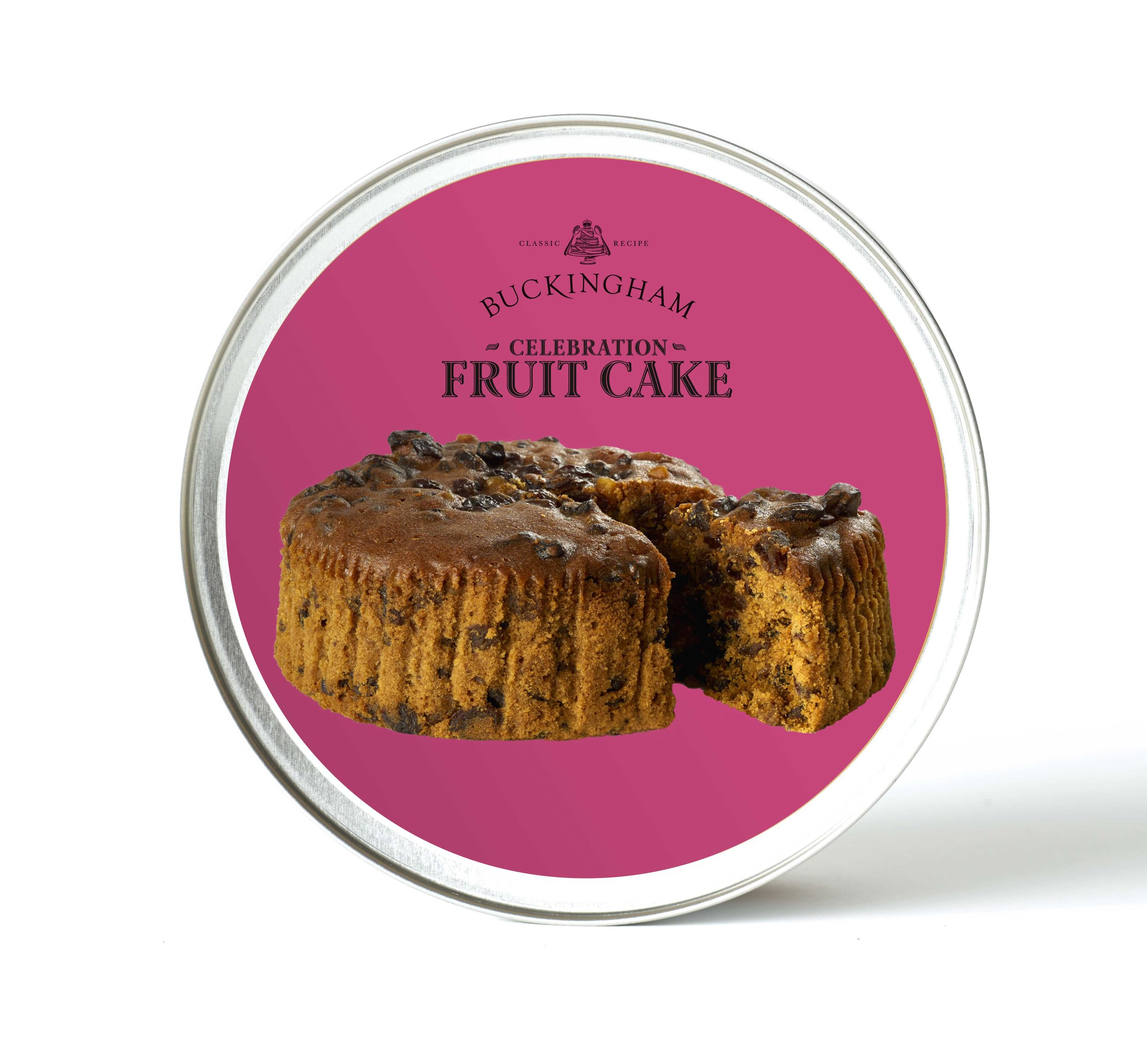 الكيك الإنجليزي التقليدي بدون نكهات