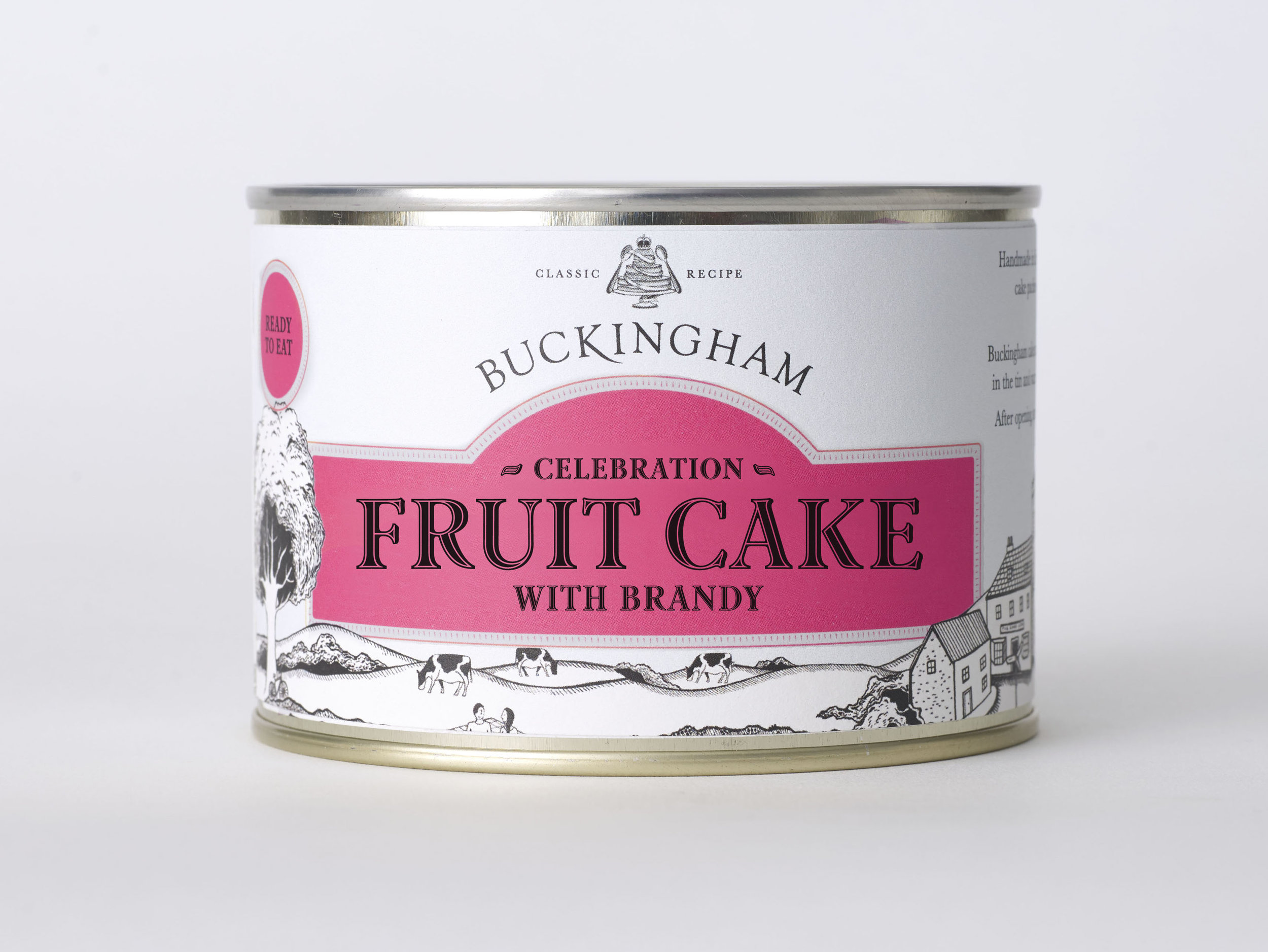 May 2018 - Our fruit cake with Scottish whisky is a firm favourite and we're frequently asked for versions with rum and also with brandy. We're starting with the brandy. Launched this month, a special edition of our classic celebration cake liberally laced with finest French brandy. What better way to celebrate in style!