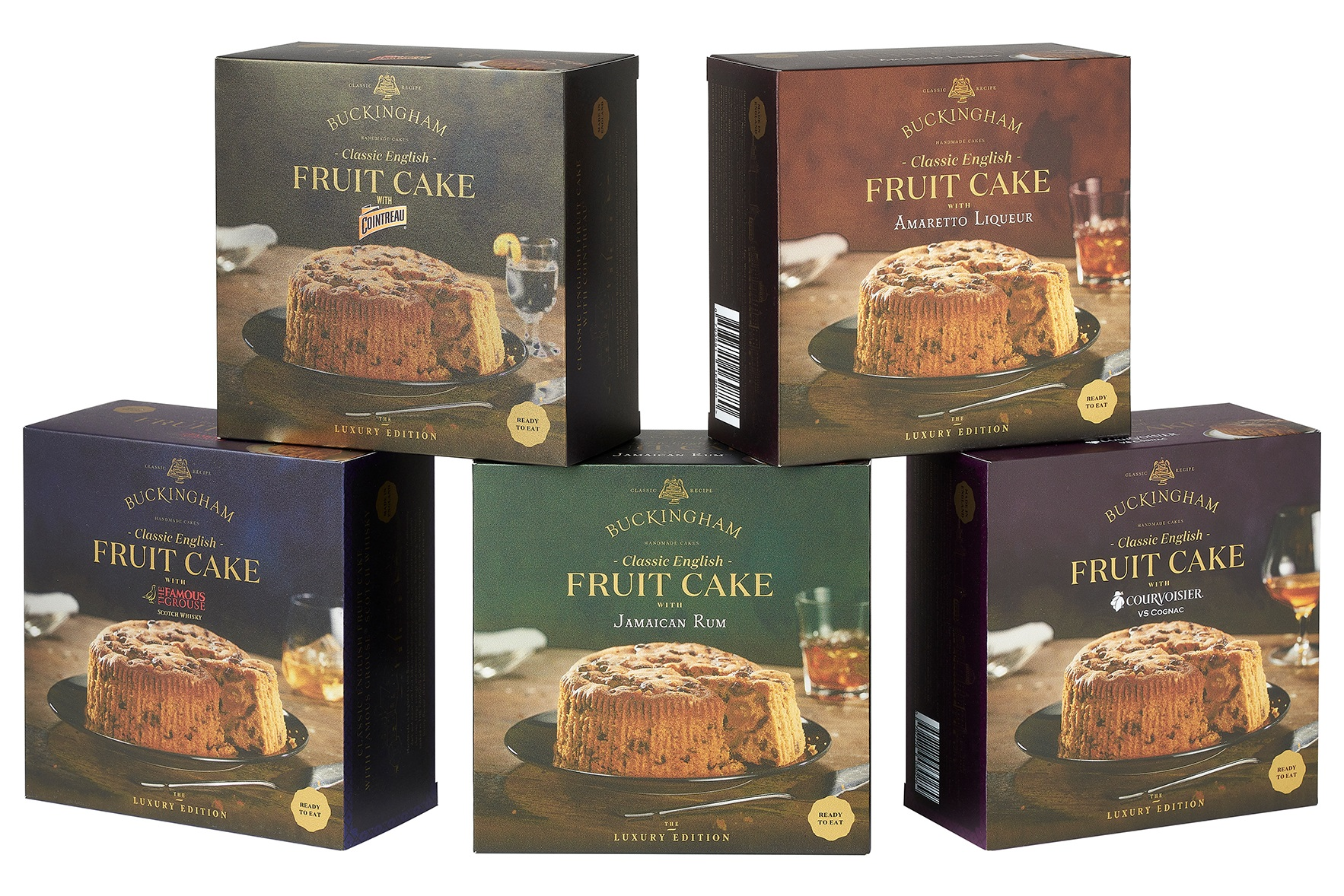 May 2019 - Proofs of the new packaging arrive at last. These are the culmination of three months work which started at ISM where we showed the concept of putting the tins inside beautiful cartons to enhance their gift appeal. The response was overwhelmingly positive and the final designs are looking very luxurious!
