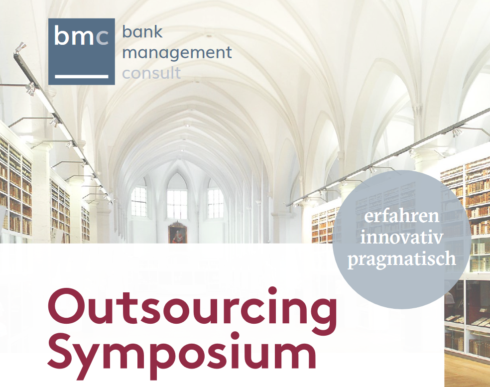 bmc Outsourcing Symposium 2018, 13. März 2018 - Design Offices Westend, Barckhausstraße 1, 60325 Frankfurt am Main