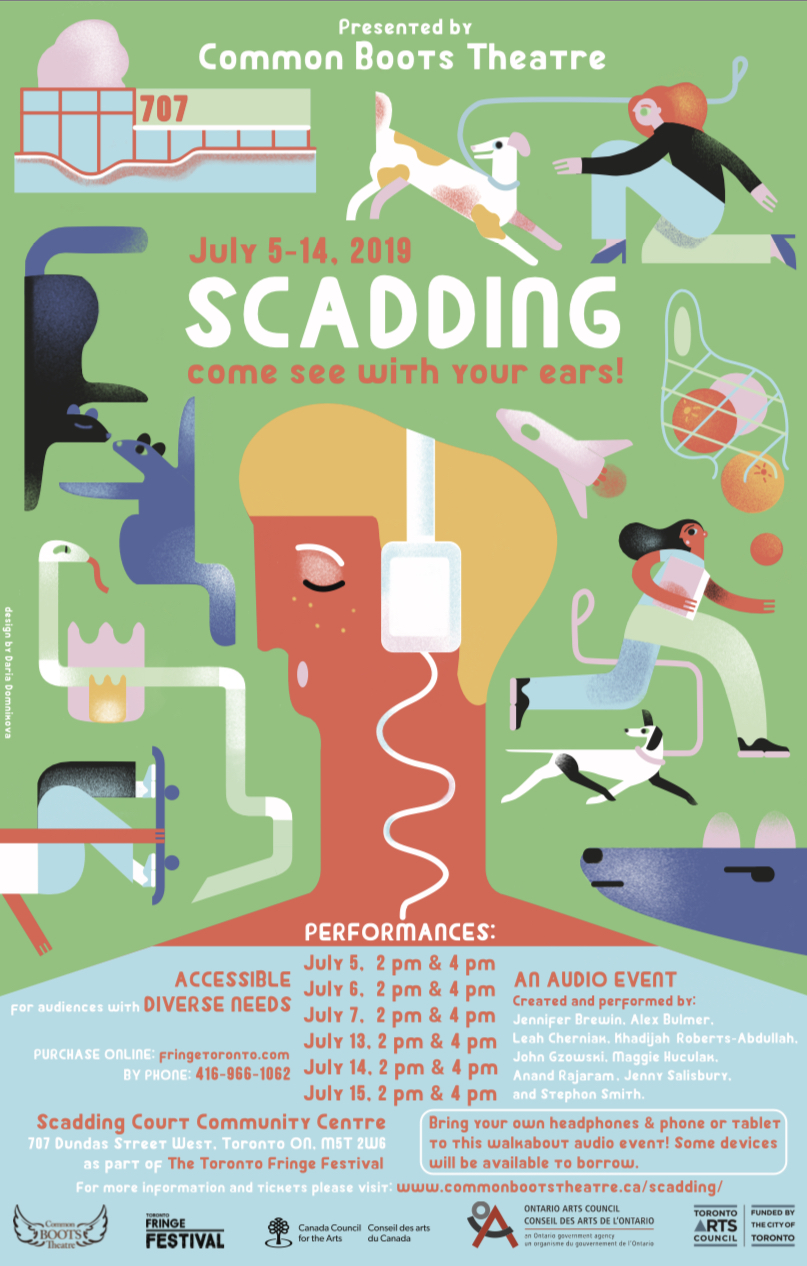 SCADDING, an audio play