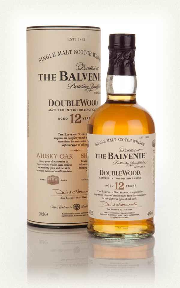 The Balvenie Double Wood1 van de vele single malt whisky's die wij in ons assortiment hebben -