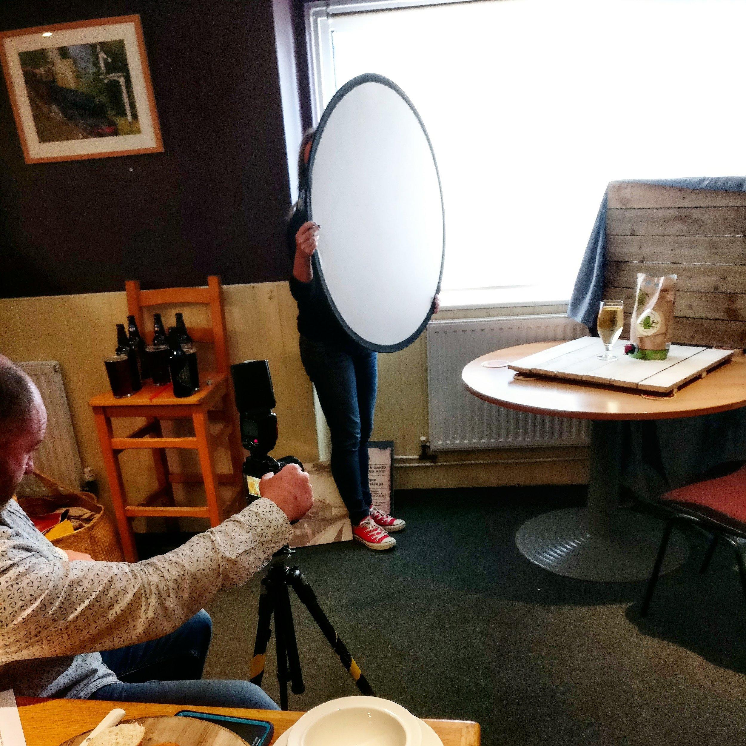 Art directing a client shoot