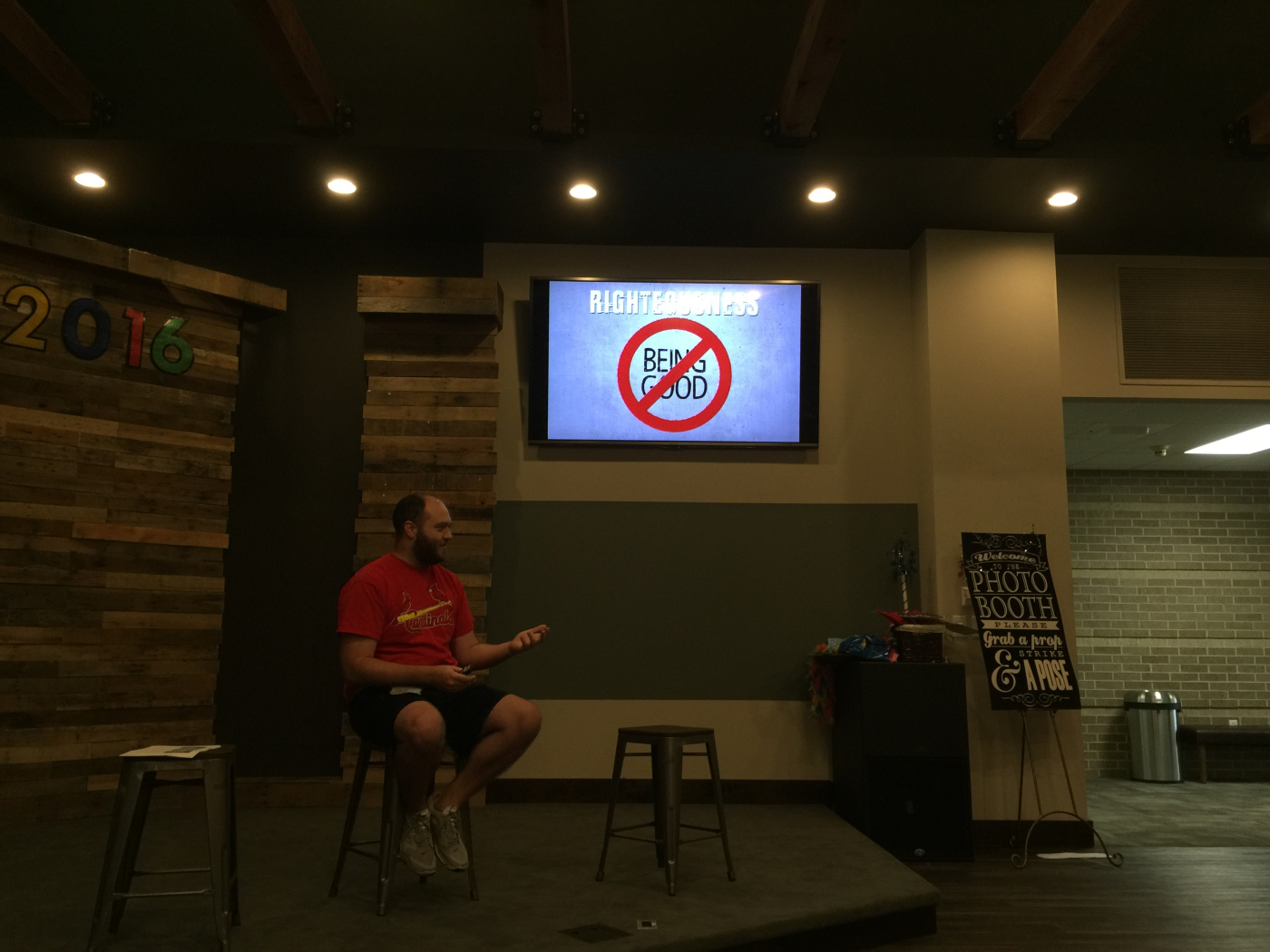 Jason Toy providing the meat of the Righteousness Presentation