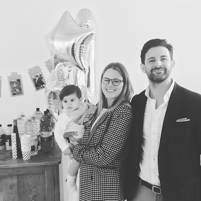 This week our little boy turned one and today many of our friends and family joined us for his christening and birthday party 🎈 it was such a special day 😘 happy happy birthday my little pickle xxxx