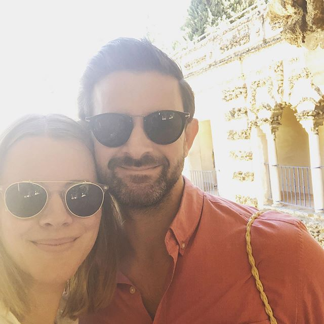 The most beautiful weekend in Seville with my beau #5years 💕