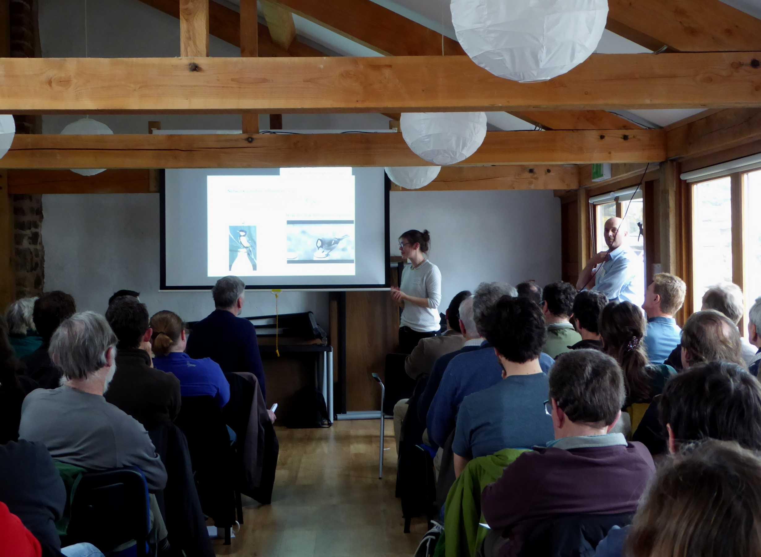 Freddy Hillemann talking enthusiastically about Wytham Woods.jpg