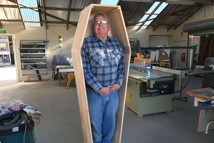 Coffin Club was featured on ABC Tasmania