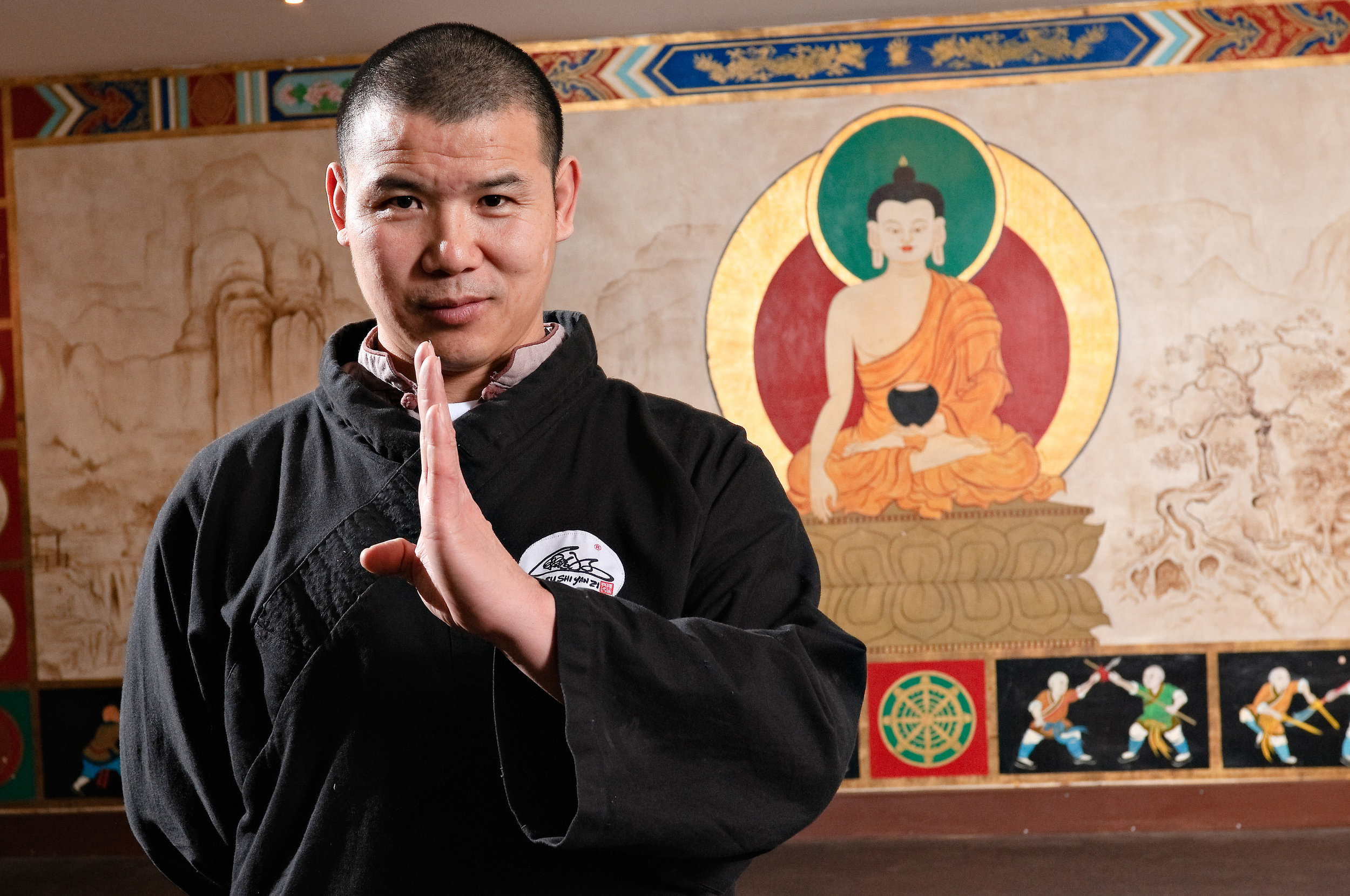 shaolin temple teacher Shifu yanzi