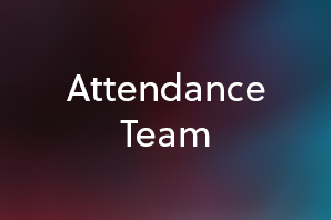 Let our Attendance Team know if you are running late to college, feeling ill or can't make it in.