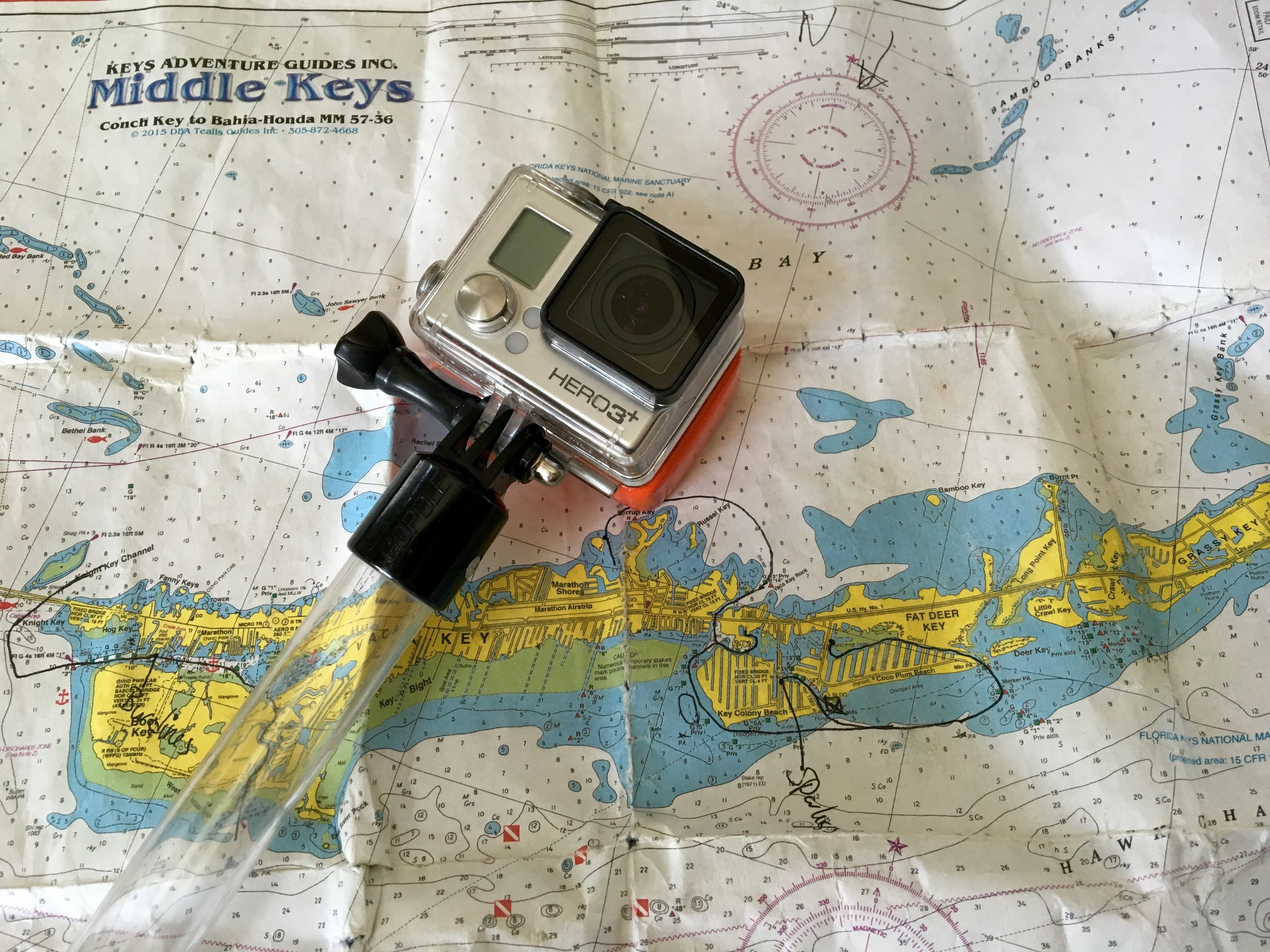 middle-florida-keys-water-map