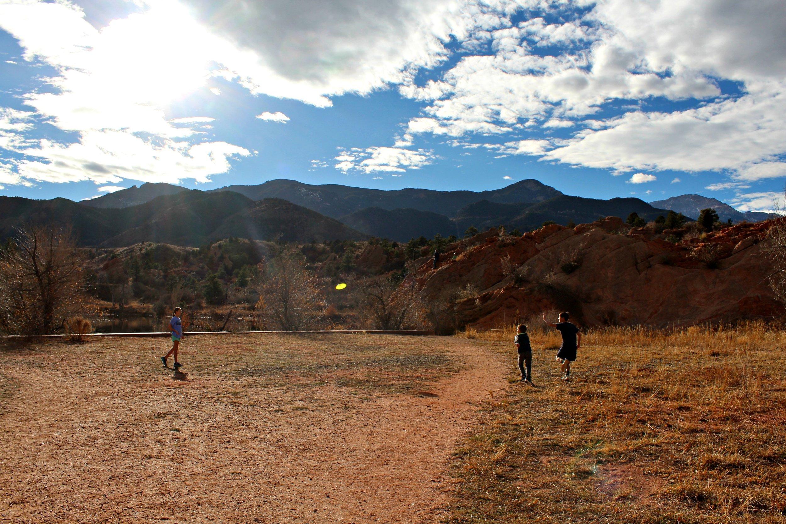 Hiking Red Rock Frisbee.jpg
