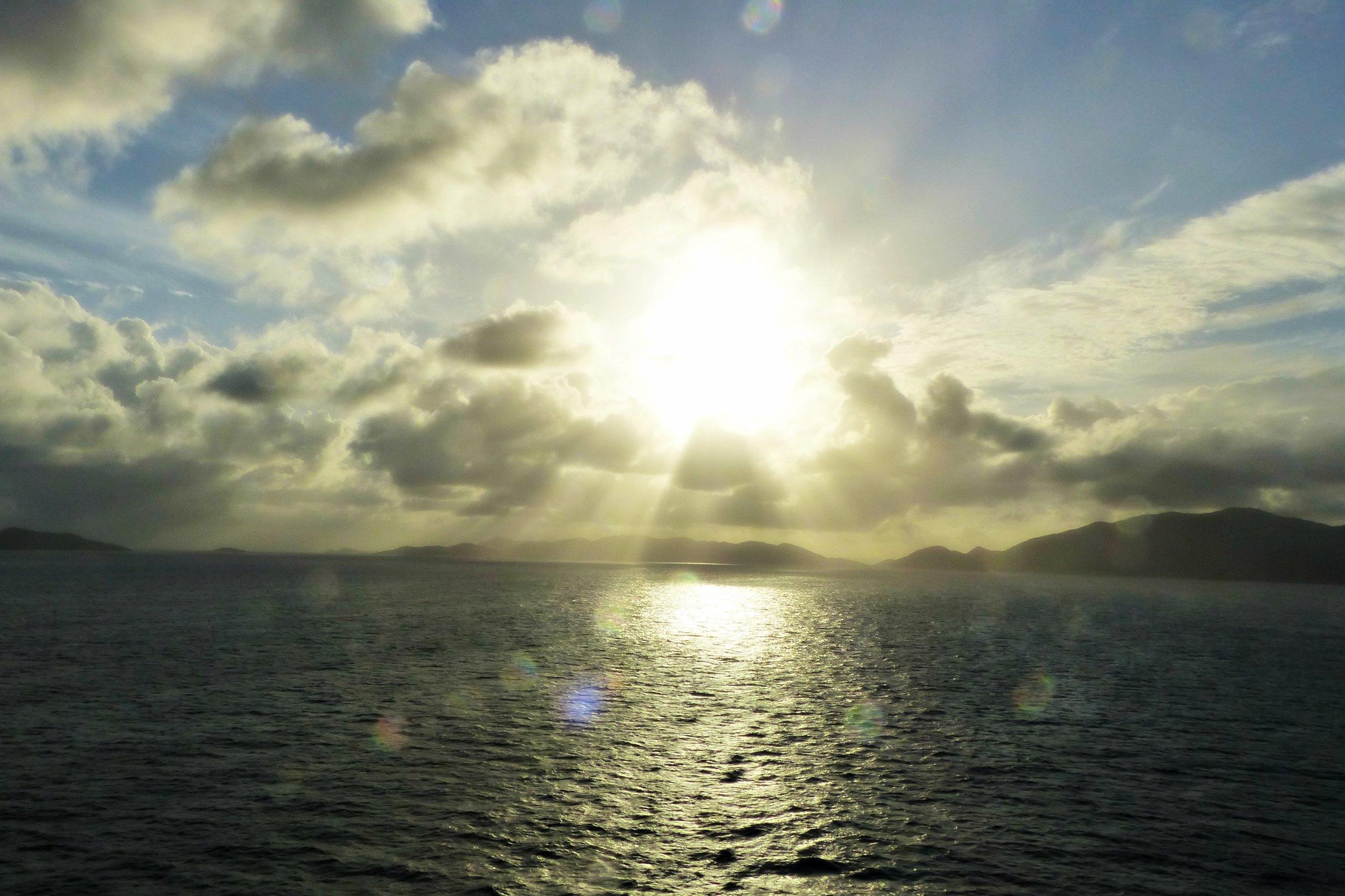 sunset-ocean