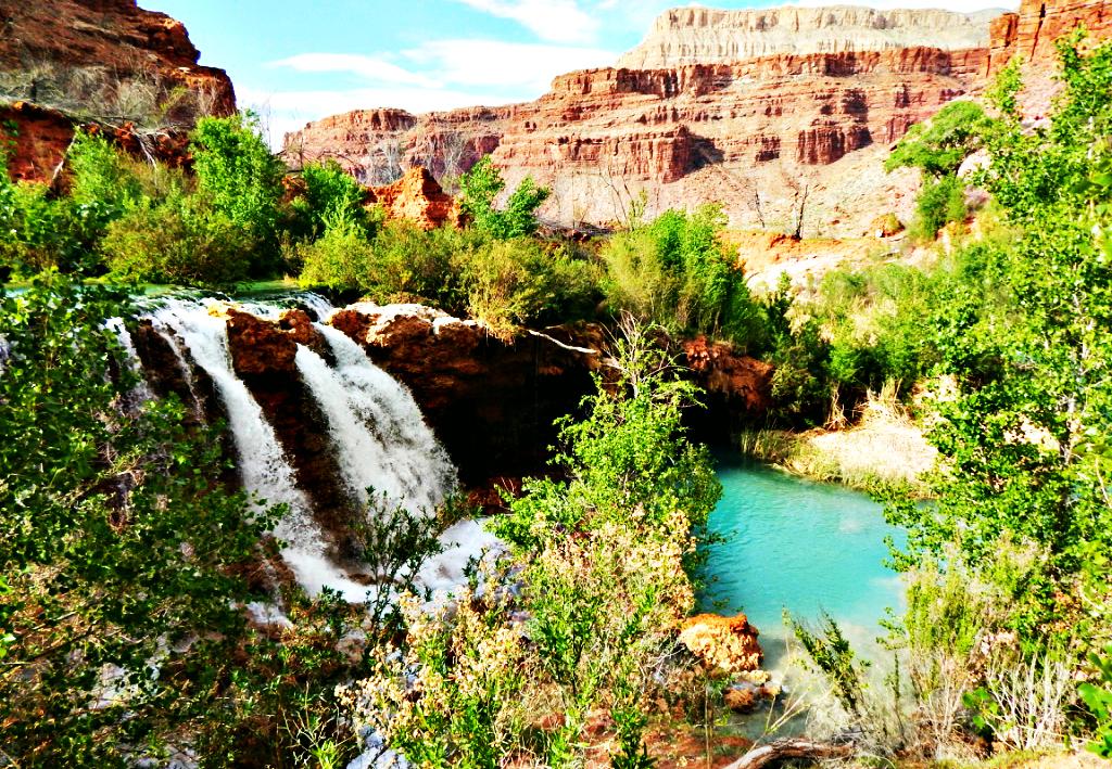 new-navajo-falls-havasupai-spring-break