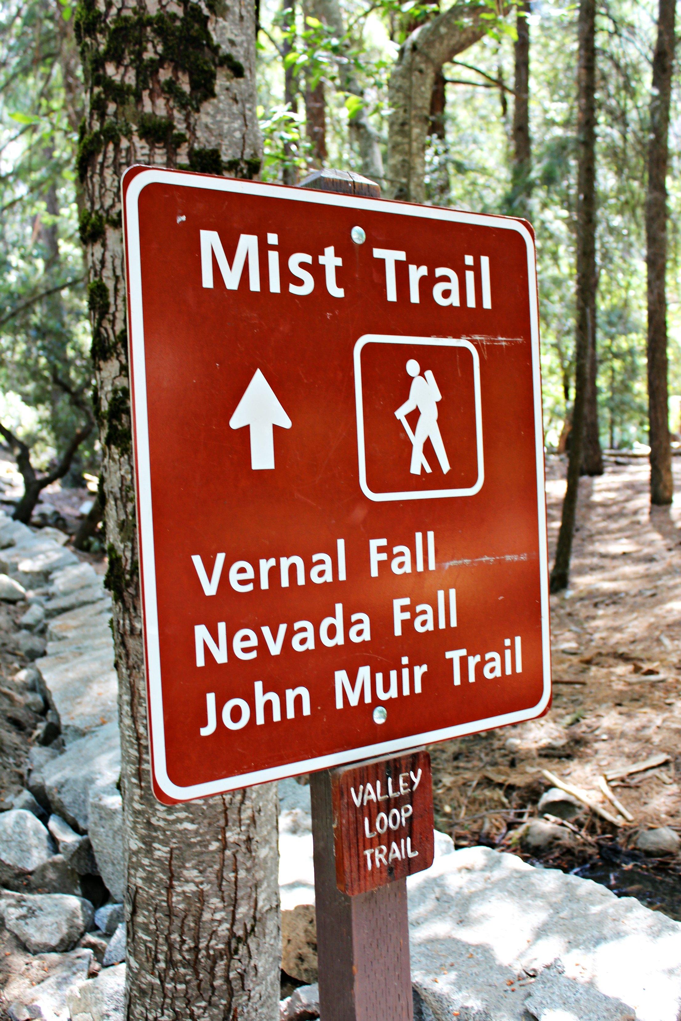 mist-trail-vernal-nevada-john-muir-sign