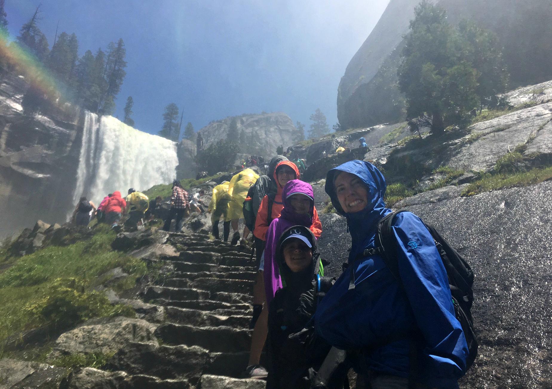 kids-vernal-fall-steps-yosemite